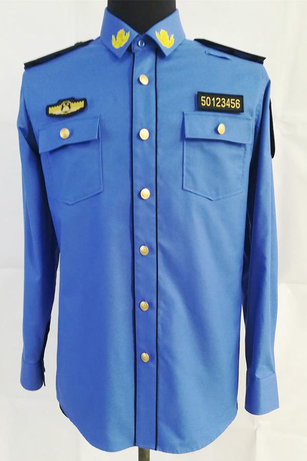 長袖制式襯衣